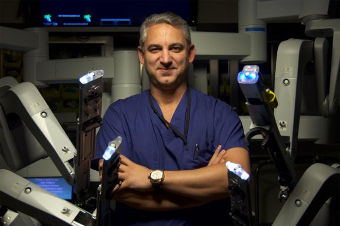 da vinci robotic prostatectomy in israel